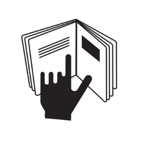 Hand-in-Book symbol